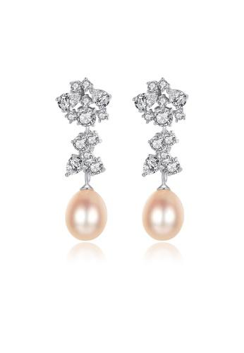 SUNRAIS silver High-grade colored stone silver fashion earrings 2E138AC9BC2EEFGS_1
