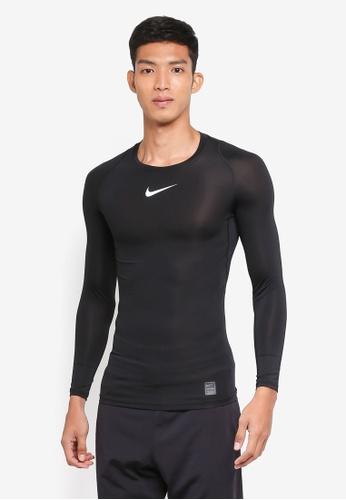 Nike black Men's Nike Pro Top F2B1AAA0043E96GS_1