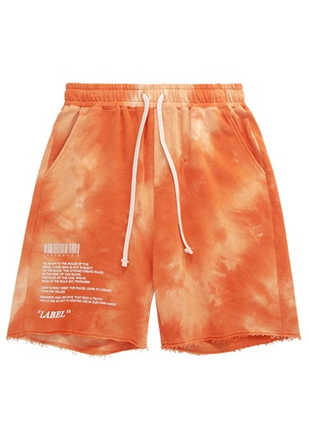 Twenty Eight Shoes Fashion Tie Dyed Printed Shorts 3048S20 38F2CAA15F9D20GS_1