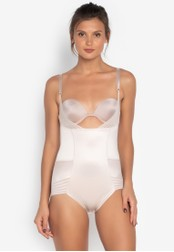MARKS & SPENCER beige Firm Control No VPL Wear Your Own Bra Body A07D4USF764660GS_1