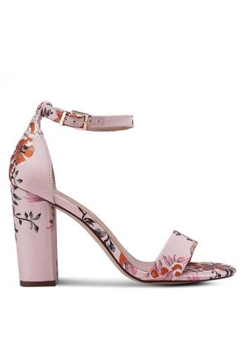Call It Spring pink Loreg Heeled Sandals 52380SH51BAB6CGS_1