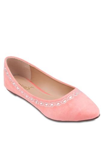 esprit門市Diamante Flats, 女鞋, 鞋