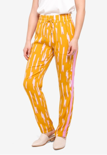 MbyM yellow Monette Long Pants B08ACAA094A62DGS_1