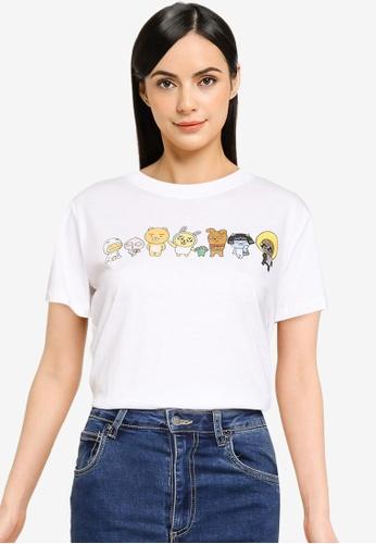Cotton On 白色 經典Pop Culture T恤 13B34AA7AF2B06GS_1