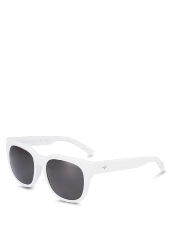 BLANC & ECLARE white Seoul Sunglasses CDB10GL7EB04CCGS_1