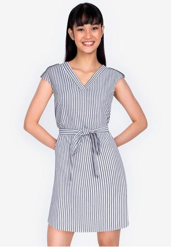 ZALORA BASICS multi Cap Sleeve Tunic Dress F88EEAACD2D529GS_1