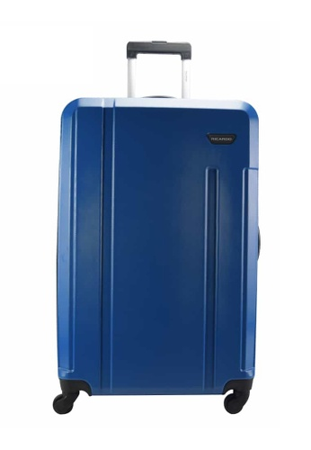!Solid blue Ricardo Beverly HillsFlorence 24 inch Expandable 4-Wheel Spinner Upright- RCD544- BLUE C3272ACEC95909GS_1