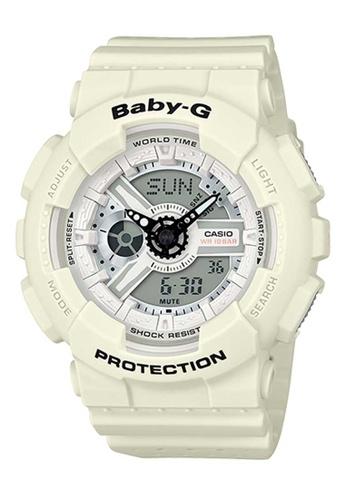 CASIO white Casio Baby-G White Resin Watch E9D5CAC1EBBAA2GS_1