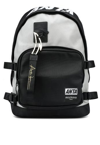 Anta black 30th Anniversary Backpack DE642AC6A81D86GS_1