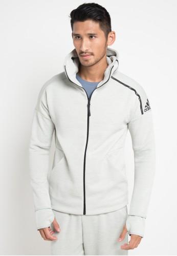 adidas multi and grey adidas adidas z.n.e. hoodie EB907AA227C7B5GS_1
