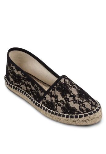 Zagare 蕾絲esprit 尖沙咀麻編懶人鞋, 女鞋, 懶人鞋