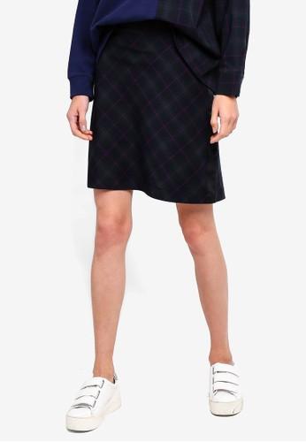 ESPRIT black Woven Mini Skirt F951FAA7F2950EGS_1