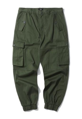 Fivecm green Cargo joggers 7AE97AAAAAD2D9GS_1