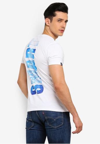 Volkswagen 白色 品牌印花T恤 24D2DAABD38135GS_1