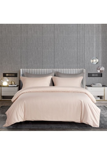 Epitex beige Epitex Supima Cotton 1200TC Bedsheet - Fitted Sheet Set - w/o quilt cover (Nude) D5FF0HLCB19976GS_1