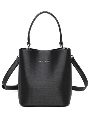Milliot & Co. 黑色 Kirsten Top Handle Bag 8A868AC68B0250GS_1