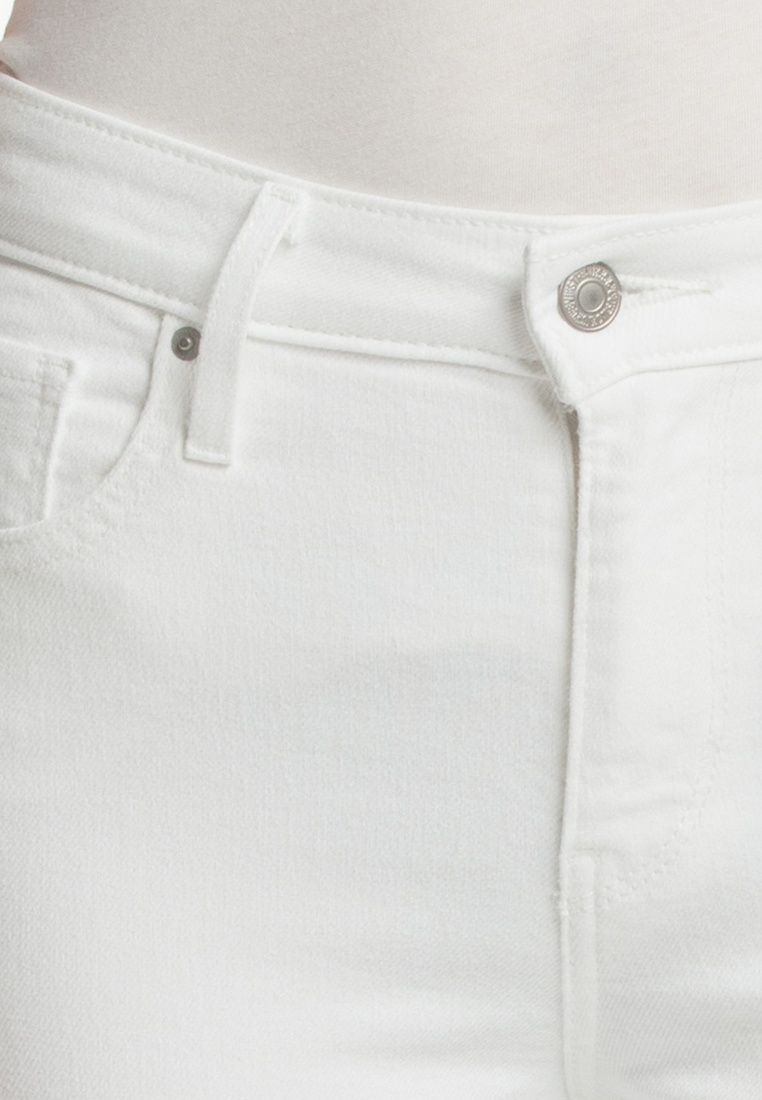 Pants Rise High 721 White Levi's® Skinny Ankle Levi's Yt4qFw