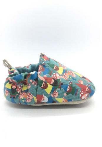Poco Nido blue and multi Poco Nido Gnomes Mini Shoes A2564KS7AEDBF7GS_1