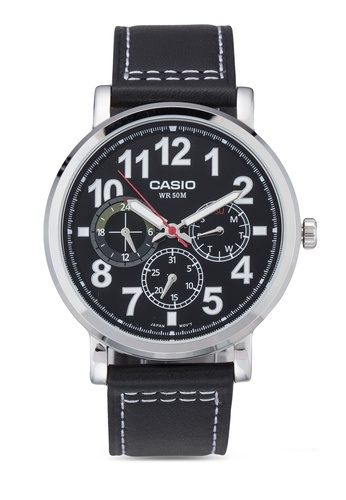 Casio multi Casio Enticer Analog Black Dial Men's Watch CA843AC84LOTMY_1
