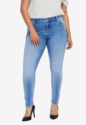 Vero Moda blue Lux Mr Slim Jeans Ri312 Curve DAFC4AA91D1366GS_1
