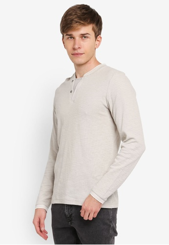 ESPRIT grey Long Sleeve Jumper ES374AA0SJ7QMY_1