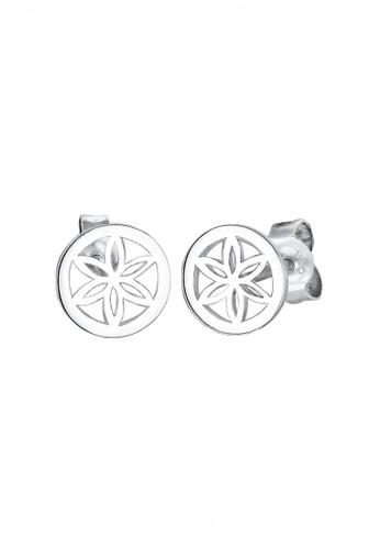 Elli Germany silver Perhiasan Wanita Perak Asli-Silver Ornamen Bunga Silver A6147ACF6E3C26GS_1