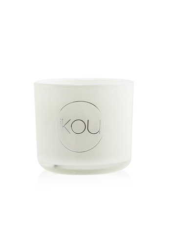 iKOU IKOU - Essentials Aromatherapy Natural Wax Candle Glass - De-Stress (Lavender & Geranium) 100177 (2x2) inch A865CHL8808053GS_1