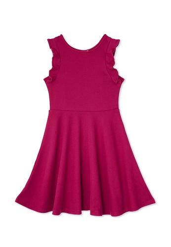 Gen Woo red Skater Dress 31362KA193DCC1GS_1