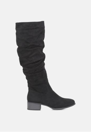 London Rag black Black Long Ankle Boots C0818SH39A3237GS_1