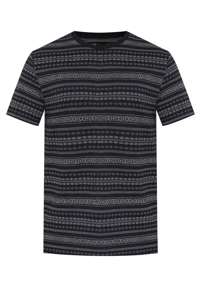 T Burton London Shirt Navy Menswear Jacquard Navy Fairisle Blue 4qzxpwHCAn