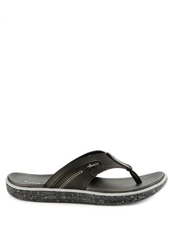 Homyped black Captiva 03 Men Sandals E8F38SH6018BF5GS_1