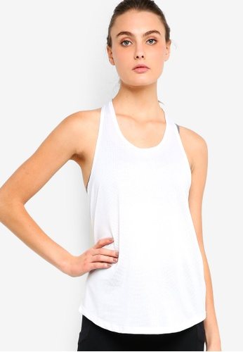 Cotton On Body white Body Active, Elastic Back Tank Top DED83AA8BE2641GS_1