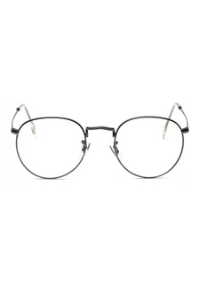 dbcbe63ba0 Semi Round Metal Eyewear (Metallic Grey) KY376AC44RBFSG 1