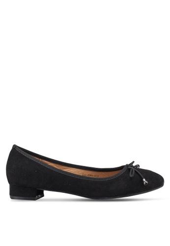Carlton London 黑色 蝴蝶結平底鞋 22578SHCC82656GS_1