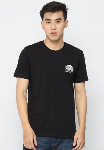 XTRAORDINARY (XO) black Graphic Cotton Combed Jpn Fashion Tee 6AD9CAAD70096FGS_1