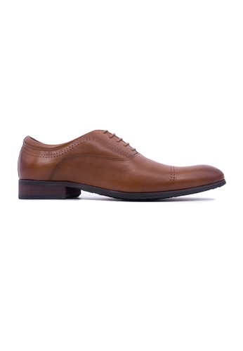 Hanson Bootmaker brown Hanson Bootmaker Lace-up Oxford - Tan 0510CSH3CE1778GS_1