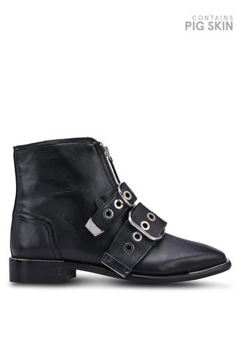 def315fef5 Buy TOPSHOP Alex Front Zip Boots Online   ZALORA Malaysia