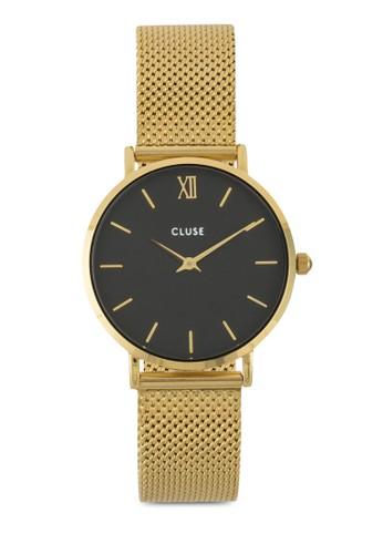 Minuesprit門市地址it 不銹鋼網狀圓錶, 錶類, 其它錶帶