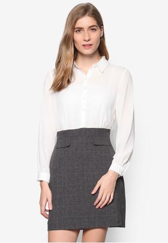 Petite 簡約設計格紋裙組合裝, 服esprit mongkok飾, 服飾