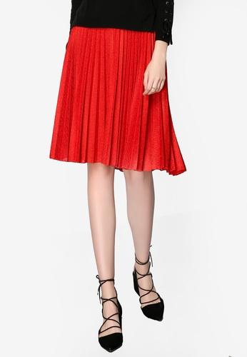 86ea21d9f3 Shop Hopeshow Pleated Skirt Online on ZALORA Philippines