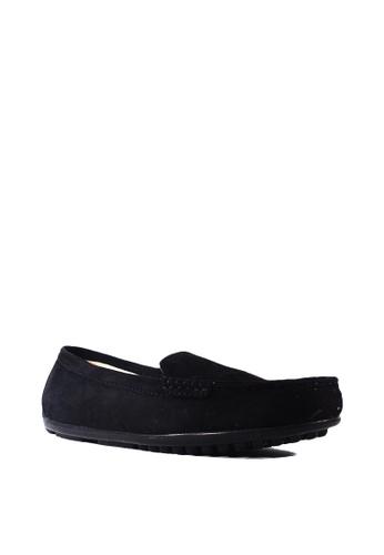Zanea Shoes black Flats Loafers ECD6BSH5904AADGS_1