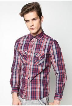 Checkered Polo Long Sleeves