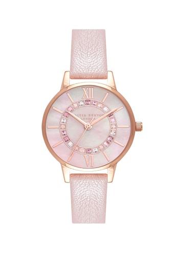 Olivia Burton pink Olivia Burton Wonderland Pink Women's  Watch (OB16WD93) 20371ACE8C2C2FGS_1