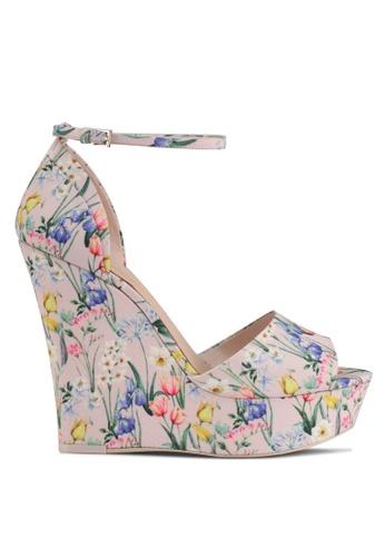 ALDO multi Fleurinia Wedge Sandals 199ACSH82F5D28GS_1