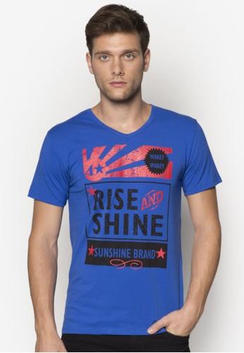 文字設計短袖TEE, 服飾, zalora 心得印圖T恤
