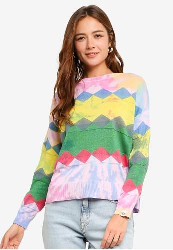 Desigual multi Jers Amritsar Sweatshirt 40318AAC9C6DCCGS_1