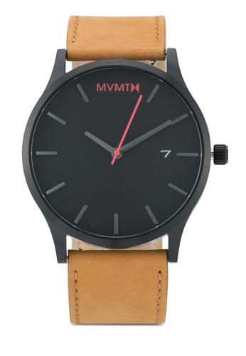 MVMT brown MVMT Classic Watch - Black Tan MV187AC0SZPTMY_1