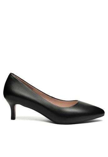 Twenty Eight Shoes black 5CM Leather Uniform Pointy Pumps 1656-1 64EA2SH3631D95GS_1