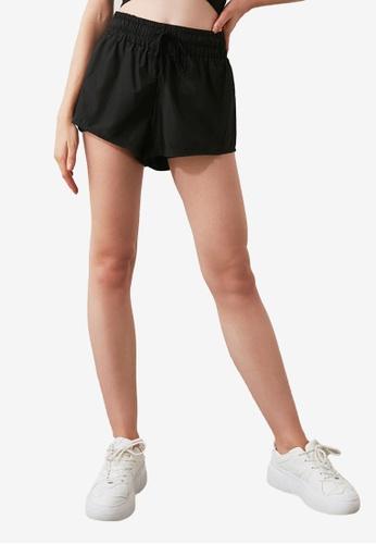 Trendyol black Sports Shorts 3781DAA43E18C1GS_1