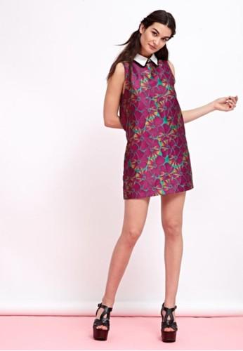 esprit 工作緹花有領無袖洋裝, 服飾, 短洋裝